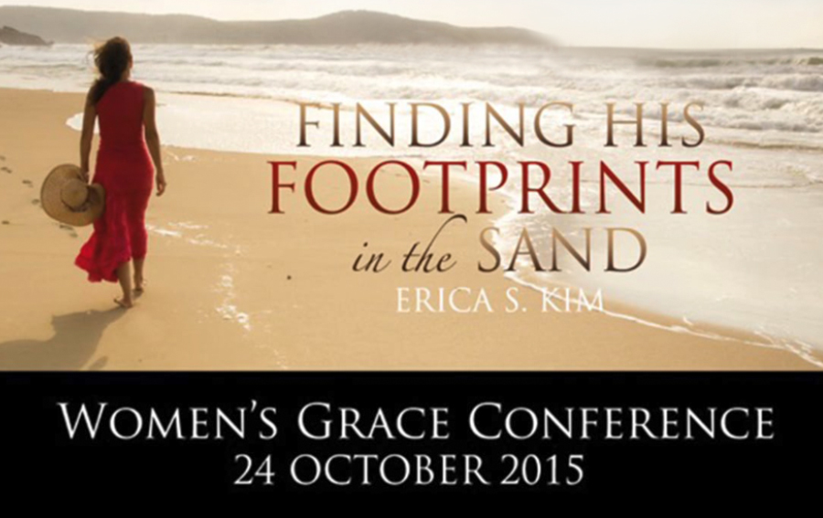 Grace Conference – Finding His Footprints in the Sand