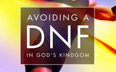 Avoiding a DNF in God's Kingdom – Neil Trollip