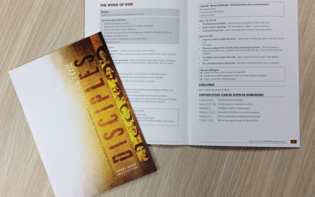 Making Disciples Booklet